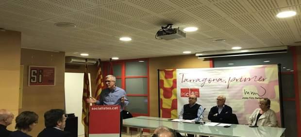 Josep Fèlix Ballesteros (PSC), alcalde de Tarragona