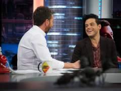 Rami Malek, en 'El hormiguero'.