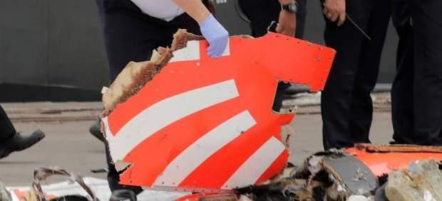 Accidente aéreo en el mar de Java