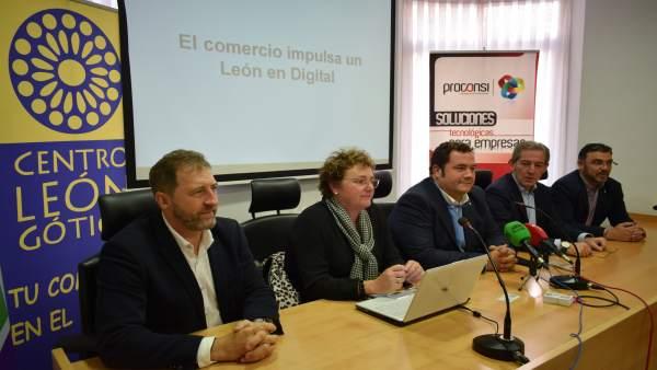 Presentación de nuevas aplicaciones para el comercio de León. 31-10-18