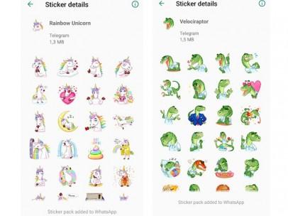 Stickers de Telegram para Whatsapp