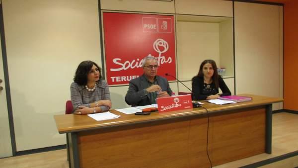 Rueda De Prensa Del Grupo Municipal Del PSOE