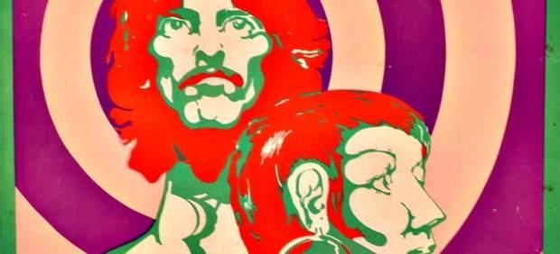 Viaje lisérgico a los años 60 a través del diseño gráfico musical