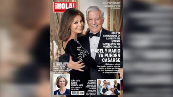 Isabel Preysler ya puede casarse con Mario Vargas Llosa