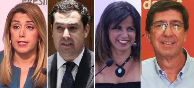 Las primeras promesas en el arranque de la campaña en Andalucía, con posibles pactos tras el 2D ...