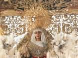 Imagen de la Esperanza de Triana de Sevilla, en una foto de archivo