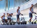 Parapléjico vuelve a caminar