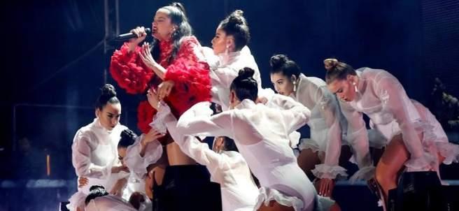 Concierto de Rosalía en Madrid
