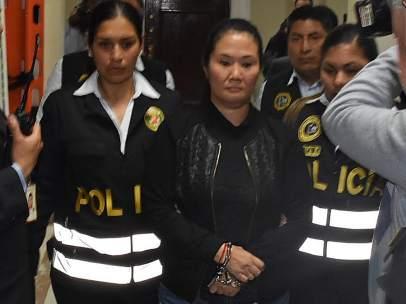 Keiko Fujimori, en prisión preventiva