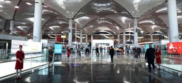 Nuevo aeropuerto internacional de Estambul