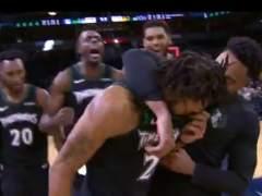 Derrick Rose llorando