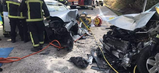 Accidente de tráfico en Ciempozuelos
