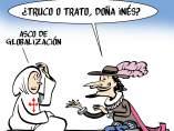 'Don Juan y la globalización', viñeta de Malagón