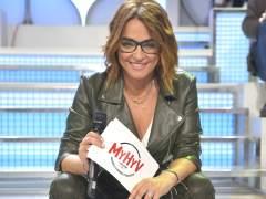 Toñi Moreno, en el plató de 'Mujeres y Hombres y Viceversa'