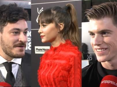 Aitana, Cepeda y Miguel Bernardeauc