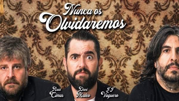 Los monólogos de 'Nunca os olvidaremos' llegan al Palacio de Festivales