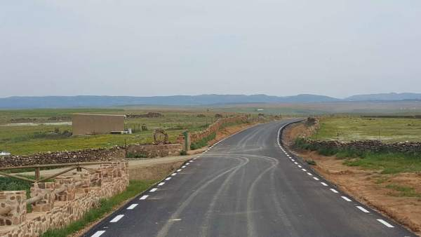 Un camino rural de Extremadura