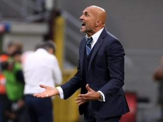 Spalletti, entrenador del Inter.