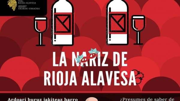 Concurso 'La Nariz de Rioja Alavesa'