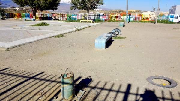 Parque infantil en Almería