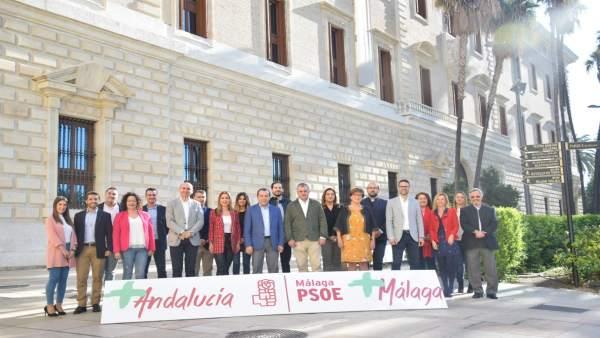 El PSOE presenta candidatos al 2D, con Ruiz Espejo como cabeza de lista