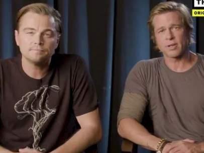 DiCaprio y Pitt