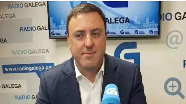 Valentín González Formoso, presidente de la Diputación de A Coruña