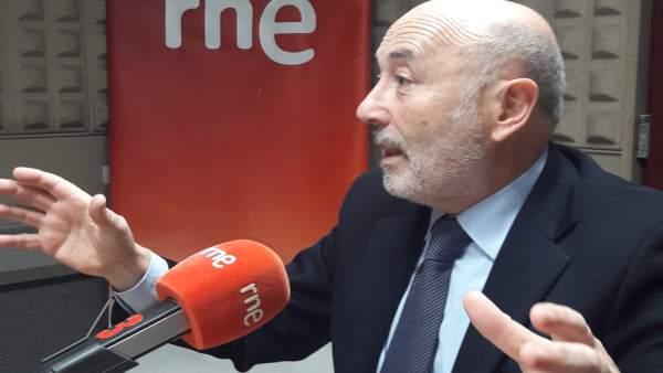 Javier Losada, en entrevista en Radio Nacional de España