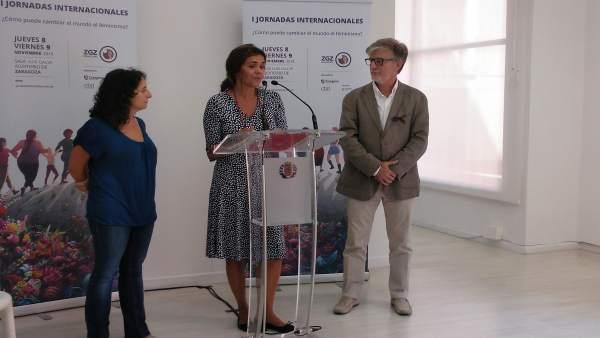 Presentación de las I Jornadas Feministas.
