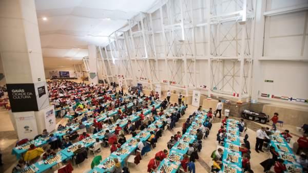 Santiago World Chess Championships En A Cidade De Cultura 04/11/18