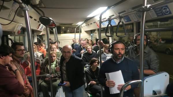 El programa 'Font de Misteris', de IB3 Ràdio, en directo desde bus de Palma