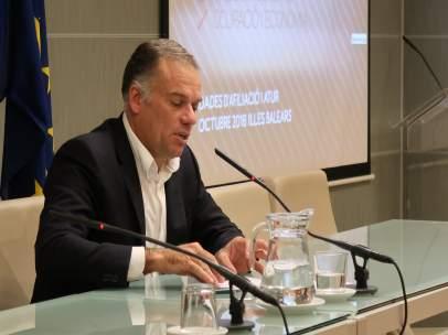 El director general de Empleo y Economía, Llorenç Pou