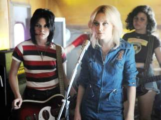 Kristen Stewart y Dakota Fanning en 'The Runaways' (2010)