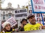 Protesta por hipotecas