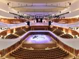 Imagen de la sala de conciertos en Moscú