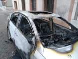 Incendio de dos vehículos en Puertollano
