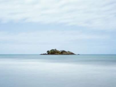 La isla Esanbe Hanakita Kojima