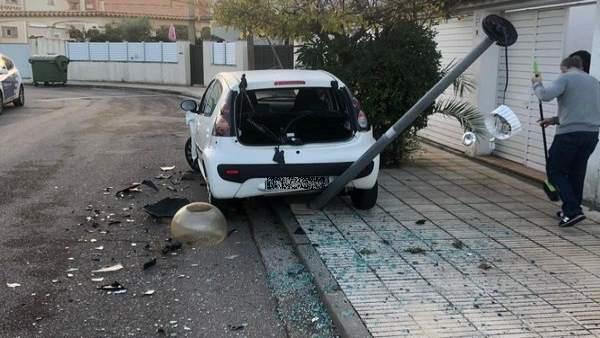 Detenido un conductor drogado que huyó de un control en Fortià (Girona)