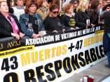Concentració Associació Víctimes del Metro 3 de Juliol (arxiu)