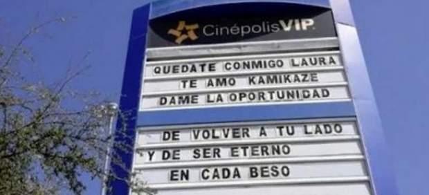 Mensaje en Cinépolis VIP
