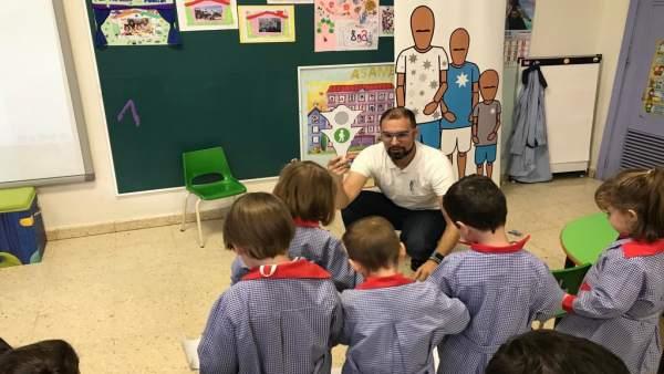 Charla de Rivekids en una escuela infantil