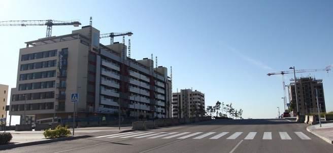 Vivienda en construcción en Madrid