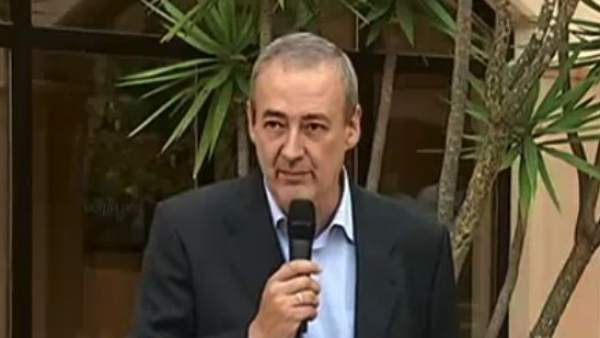 Guillem Boscana, presidente del Iberojet Palma, durante un acto.