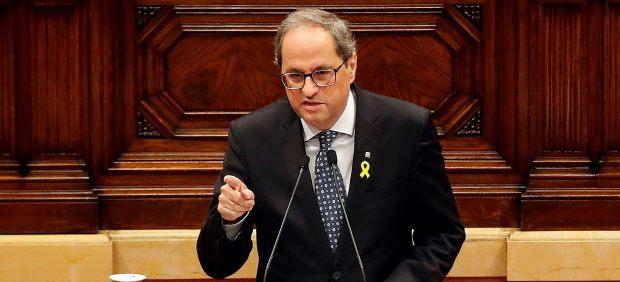 ARCHIVO / El presidente de la Generalitat, Quim Torra
