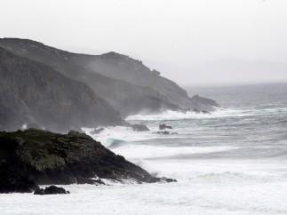 Lluvias en las Rías Baixas (Galicia)