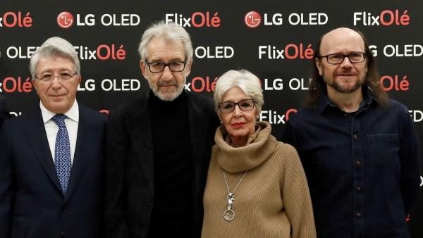 La presentación de la plataforma de cine español FlixOlé.