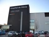 Imagen de la fachada del Hospital de Dénia (Alicante)