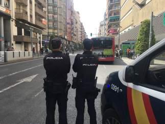 Agents de Policia Nacional a Alacant