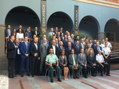 Reunión de coordinación del Frontex en Casa África