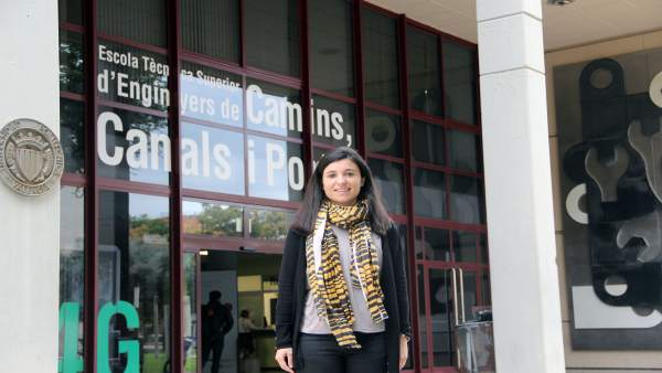 La profesora de la UPV Tatiana García